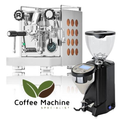 Rocket Appartamento & Rocket Fausto Doserless Grinder Package