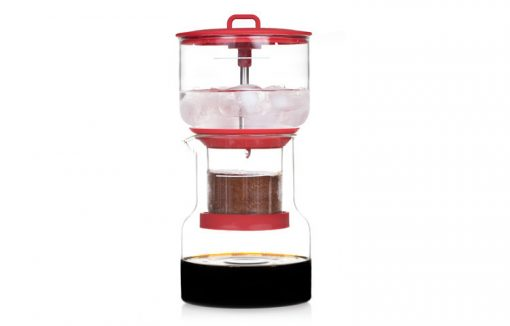 cold coffee brewer red