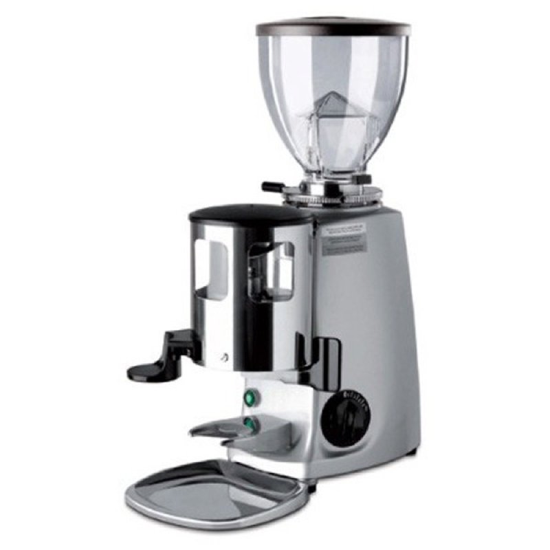 Manual Coffee Grinder ~ Mazzer mini manual doser grinder available in black or silver