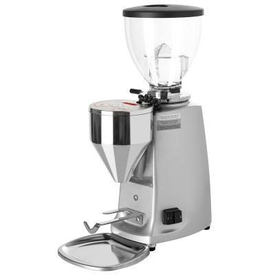 Mazzer Mini Electronic Silver Doserless Grinder