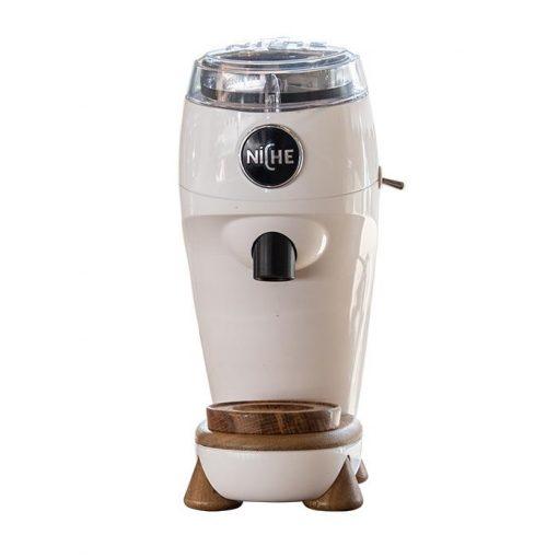 Niche coffee grinder white