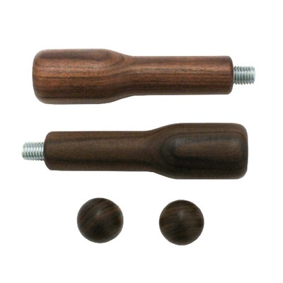 Bezzera Wooden Handles Set with 2 wooden knobs