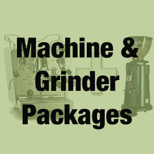 coffee machine and grinder packages